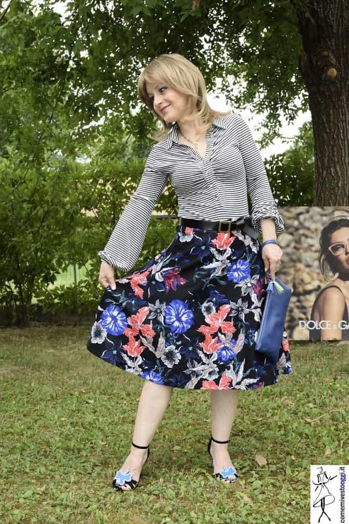 Il mio look con un capo Haute Couture. Stampa Micro&Maxi.