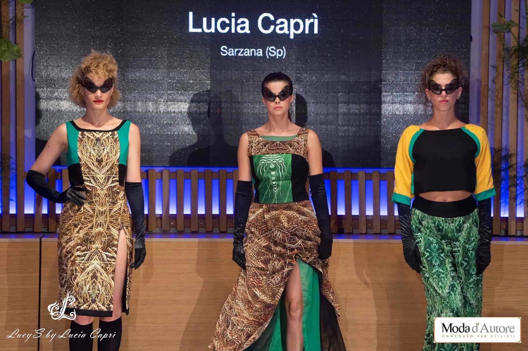 capo sartoriale, Lucia Caprì